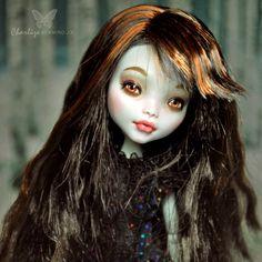 1 6 OOAK Mattel Monster High MH Lagoona Blue Doll Custom Repaint by Kmiro | eBay