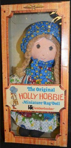 Holly Hobbie Rag Doll by Knickerbocker, 1970's