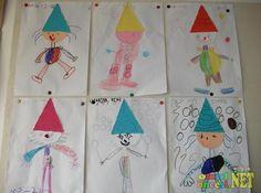 Üçgen Şapkalı Çocuklar - Okul Öncesi NET / Okul Öncesi Forum Sitesi