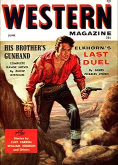 'Western Magazine - His Brother's Gunhand' Fantastic A4 G…