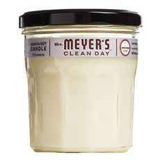 Mrs. Meyers has the greatest products- Candles, cleaning products, air fresheners. You name it.