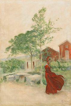 Stina 1895 ~ Carl Larsson ~ (Swedish 1853-1919)