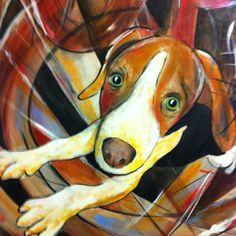 Beagle painting I'm fond of