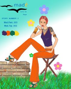 story 2 mod top 002 + pant 005 versione finale