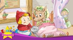 Little Red Riding Hood - Where are you? - English story for Kids