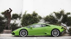 Lamborghini Huracan LP 610-4 Coupé 2014, Static Side Shot. More Images On The Following Link: https://www.carspecwall.com/lamborghini/huracan/huracan-lp-610-4-coupe-2014/