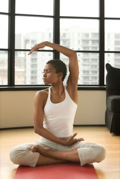 Beautiful Woman doing Yoga-frugivoremag.com-Give me two years....