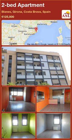 2-bed Apartment in Blanes, Girona, Costa Brava, Spain ►€125,000 #PropertyForSaleInSpain