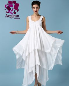 c7f0ea4cf91 Star Style summer dress desigual brand party elegant Irregular cascading  ruffle lace dress Chiffon Ruffle