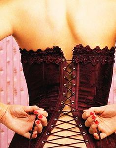 Sexy Lingerie, Heels and Boots — corset-fetish: Corsets Laura Lee, Burlesque, Corsets, Magenta, Purple Haze, Lilac, Look At My, Red Corset, Corset Tops