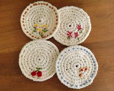 Spring Time Coasters