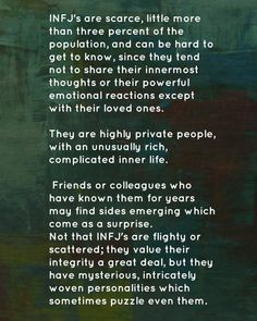 INFJ. LOVE this one!