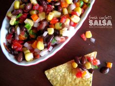 fresh confetti salsa recipe