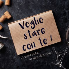 Frase della settimana / Phrase of the week: Voglio stare con te! (I want to be/stay with you!) Learn more about this phrase by visiting our website! #italian #italiano #italianlanguage #italianlessons Italian Grammar, Italian Vocabulary, Italian Phrases, Latin Phrases, Italian Words, Italian Quotes, Italian Language, Korean Language, Basic Italian