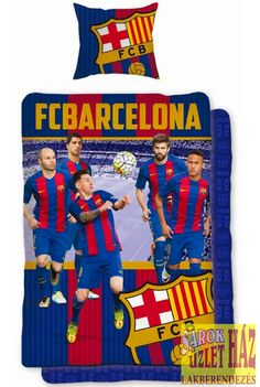 This cool cotton FC Barcelona Messi Header Single Duvet Cover and Pillowcase Set features all your favourite players. Free UK delivery available Football Bedroom, Single Duvet Cover, Free Uk, Fc Barcelona, Your Favorite, Duvet Covers, Create Your Own, Messi, Header
