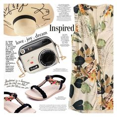"""Flower Print"" by katjuncica ❤ liked on Polyvore featuring daria"