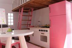 Cocina casita para niñas