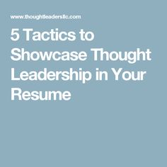 how can my resume demonstrate initiative, problem-solving, work ...