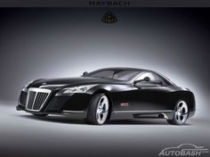 The 690-hp, V-12 Maybach Exelero two-seater is a unique model