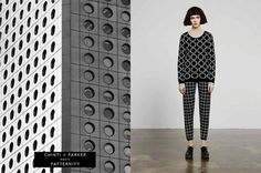 Architecture inspired knitwear | Chinti and Parker