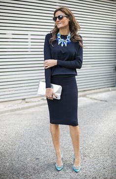OUTFITS, zara ss14, vestido tubo marino, collar turquesa zara, clutch plata lacambra, sacha london, 41 eyewear, 4 contra 1, mfshow women, cr...