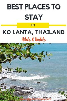 Planning a trip to Koh Lanta, Thailand? Here are our top picks on places to stay