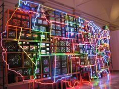Information Superhighway, American Art Museum, Washington  D.C.,