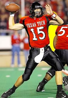Sonny Cumbie, Texas Tech Red Raiders...WHAT A WONDERFUL MAN, FRIEND AND FATHER!