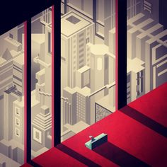 Hexels Feature Friday March 4th 2016 What's that? A sweet bundle of art made in Hexels AND it's Friday?! • chancellorwee channels all sorts of emotion with this isometric dystopia, immediately making it one of our favorite recent submissions • Auburn...