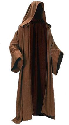 Put on your Obi-Wan Kenobi! Heavyweight wool cloak inspired by Star Wars. Everyone will know they're in the presence of the Force! It's time to put on your Obi-Wan! Although you could use this extraor. Costume Jedi, Costume Star Wars, Jedi Cosplay, Knight Costume, Magician Costume, Star Wars Jedi, Star Wars Stormtrooper, Traje Jedi, Trajes Star Wars