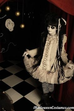 scary doll costume for Halloween » Halloween Costumes 2013