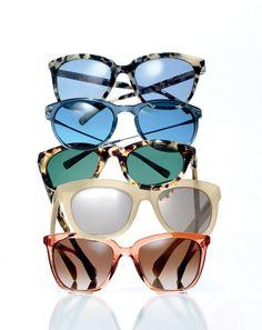 J.Crew women's sunglasses: Franny, Piper, Sam and Betty. @jcrew (Level 2, South)