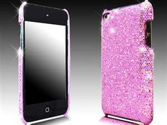 iPod Touch 4 GL'amour Purple Glitter Hard Case [iPod Touch 4 Glamour ...