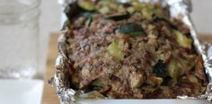 #paleo Summer Breakfast Meatloaf (egg free, nut free)