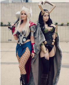 Rule 63 Thor and Loki | Cosplay Galaxy #cosplay #Rule63