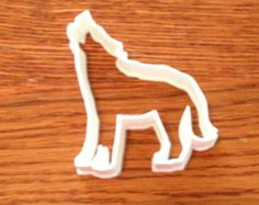 Howling Wolf cookie and fondant cutter