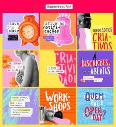 Instagram Feed Ideas Posts, Feeds Instagram, Graphic Design Posters, Graphic Design Illustration, Graphic Design Inspiration, Web Design, Layout Design, Kids Diary, Instagram Design