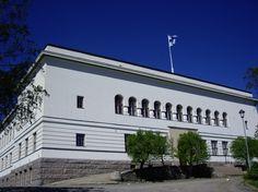 Kristinestads gymnasium. Ostrobothnia province of Western Finland.- Pohjanmaa - Österbotten