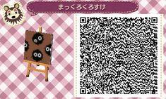 QR Codes Animal Crossing New Leaf - soot sprites!!