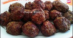 Sweet and spicy smoked meatballs Greek Recipes, Light Recipes, Vegan Patties, Party Finger Foods, Cooking Recipes, Healthy Recipes, Sweet And Spicy, Food To Make, Dessert Recipes