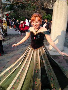 Annas coronataion dress kinda pattern cosplay frozen anna annafrozen kuroshio solutioingenieria Image collections
