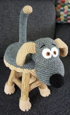New Ideas For Crochet Amigurumi Perros Crochet Home, Cute Crochet, Crochet Crafts, Crochet Projects, Knit Crochet, Crochet Fabric, Knitting Projects, Crochet Amigurumi, Crochet Dolls
