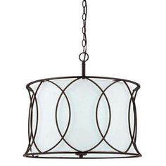 Monica 3-Light Oil Rubbed Bronze Chandelier Home Depot $143