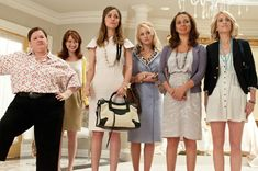 """Bridesmaids: """"I'm not entirely certain which end that came out of."""" I LOVE this movie."""
