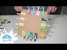 Színek - csipeszes játék - YouTube Triangle, Games, Toys, Youtube, Activity Toys, Toy, Gaming
