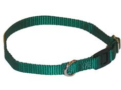 Sandia Pet Products Hunter Green Cat Safety Collar  Adjustable 8 to 12 inch ** More info could be found at the image url.(This is an Amazon affiliate link and I receive a commission for the sales) #CatCollarsHarnessesandLeashes