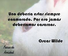 Frases de amor de Oscar Wilde