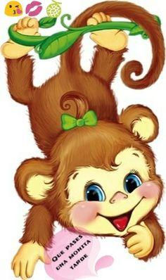 Ideas for baby animals tattoo pictures Baby Animal Drawings, Art Drawings For Kids, Cute Drawings, Art For Kids, Cartoon Monkey, Cute Cartoon, Baby Animals, Cute Animals, Art Mignon