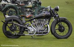 A beautiful 1934 Crocker 'Big Tank' V-twin