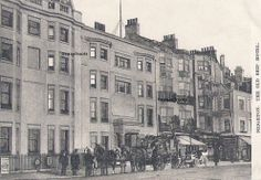 photos of old hotels | Coach outside the Old Ship Hotel, Brighton, Sussex - click to return